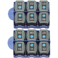 IDEAL 158050 VDV II RJ45 Remotes, 12 pk (R-IDI158050)