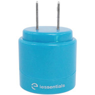 IESSENTIALS IE-ACP2U-BL 2.1-Amp Dual-USB Home Charger (Blue) (R-IEACP2UBL)