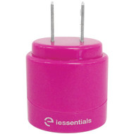 IESSENTIALS IE-ACP2U-PK 2.1-Amp Dual-USB Home Charger (Pink) (R-IEACP2UPK)