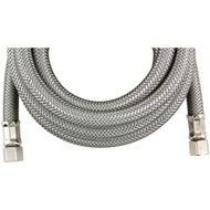 CERTIFIED APPLIANCE IM96SS Braided Stainless Steel Ice Maker Connector (8ft) (R-IM96SS)