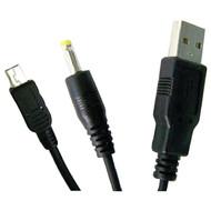 INNOVATION 7-38012-54823-2 PSP(R) 2-in-1 USB Data Transfer Cable & Charger, 4ft (R-INN54823)