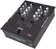 Epsilon Ultra Compact Pro Dj Battle Mixer With Built In Mini Inno (Black) (R-INNOMIX2BLACK)