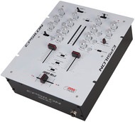 Epsilon Ultra Compact Pro Dj Battle Mixer With Built In Mini Inno (White) (R-INNOMIX2WHITE)