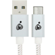 IOGEAR G2LU3CAM01-WT Charge & Sync Flip(TM) Pro USB(TM)-C to Reversible USB-A Cable (R-IOGG2LU3CAM01W)