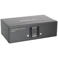 IOGEAR GCS1722 VGA KVM Switch with PS/2 & USB (2 Port) (R-IOGGCS1722)
