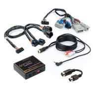 Isimple Dual Auxiliary Audio Input Interface For Select Gm Vehicles (R-ISGM535)