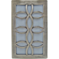 GE 11257 Faux Nickel Leaf Design Night-Light (R-JAS11257)