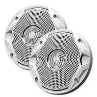 """JBL MS6510 6-½"""" Dual Cone Marine Speakers - (Pair) White (R-JBLMS6510B)"""
