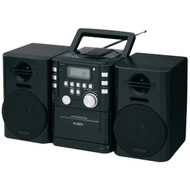 JENSEN CD-725 Portable CD Music System with Cassette & FM Stereo Radio (R-JENCD725)