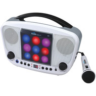 KARAOKE NIGHT KN104 CD+G Karaoke Machine with LED Light Show (R-JENKN104)