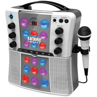 KARAOKE NIGHT KN200A CD+G Karaoke Machine with LED Light Show (R-JENKN200A)