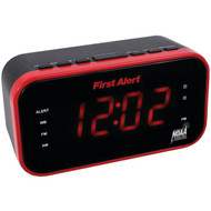 FIRST ALERT SFA150 AM/FM Weather Band Clock Radio with Weather Alert (R-JENSFA150)