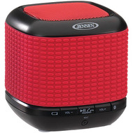 JENSEN SMPS621R Portable Bluetooth(R) Speaker (Red) (R-JENSMPS621R)