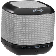 JENSEN JENSMPS621R Portable Bluetooth(R) Speaker (Silver) (R-JENSMPS621S)