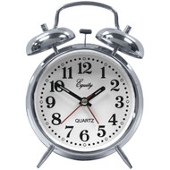 EQUITY BY LA CROSSE 13014 Analog Quartz Alarm Clock (R-LCR13014)
