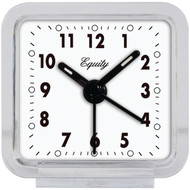 EQUITY BY LA CROSSE 21038 Clear Quartz Alarm Clock (R-LCR21038)