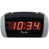 EQUITY BY LA CROSSE 30240 Super-Loud LED Alarm Clock (R-LCR30240)