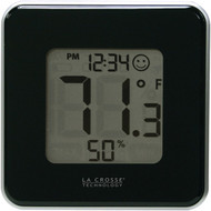 LA CROSSE TECHNOLOGY 302-604B-TBP Indoor Comfort Level Station (Black) (R-LCR302604BTBP)