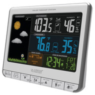 LA CROSSE TECHNOLOGY 308-1412S Color Weather Station (R-LCR3081412S)