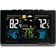 LA CROSSE TECHNOLOGY 308-1414MB Wireless Weather Station with Color LCD (R-LCR3081414MB)