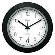 "EQUITY BY LA CROSSE 40222B 10"" Black Insta-Set Wall Clock (R-LCR40222B)"