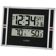 LA CROSSE TECHNOLOGY 513-149 Indoor/Outdoor Thermometer & Atomic Clock (R-LCR513149)