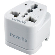LENMAR AC150 TraveLite Ultracompact All-in-One Travel Adapter (R-LENAC150)