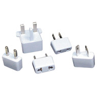 LENMAR AC5 5-Piece International AC Plug Converter Set (R-LENAC5)