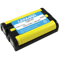 LENMAR CB0107 Panasonic(R) KX-TG Series Cordless Phone Replacement Battery (R-LENCB0107)