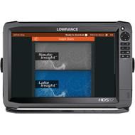 LOWRANCE 000-11795-001 HDS-12 Gen3 Insight(TM) Fishfinder/Chartplotter with 83/200kHz Transducer (R-LRN11795)