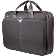 "MOBILE EDGE MEBCNP1 16"" PC/17"" MacBook(R) Nylon Notebook Briefcase (Premium) (R-MBLMEBCNP1)"