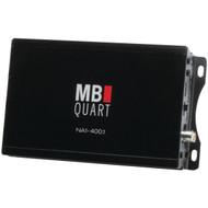 MB Quart NA1-400.1 Nautic Series Compact Powersports Class D Amp (Monoblock, 400 Watts x 1) (R-MBQNA14001)