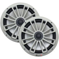 "MB Quart NK1-120 Nautic Series 8"" 140-Watt 2-Way Coaxial Speaker System (Not Illuminated) (R-MBQNK1120)"