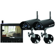 "SECURITYMAN DigiLCDDVR2 7"" LCD Monitor/DVR with 2 Wireless Cameras (R-MCYDLCDR2)"