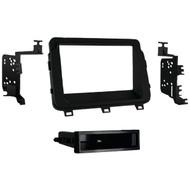 METRA 99-7359B 2014 & Up Kia(R) Optima Single-DIN Installation Kit, Matte Black (R-MEC997359B)