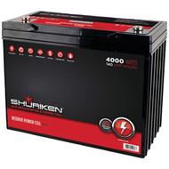 SHURIKEN SK-BT140 Battery (4,000 Watts, 140 Amps) (R-MECSKBT140)