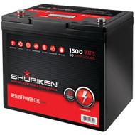 SHURIKEN SK-BT60 Battery (1,500 Watts, 60 Amps) (R-MECSKBT60)