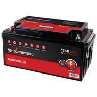SHURIKEN SK-BT75 Battery (1,750 Watts, 75 Amps) (R-MECSKBT75)
