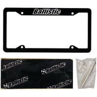 BALLISTIC SSLICB License Plate Kit (R-MECSSLICB)