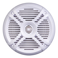"Power Acoustik Marine 6.5"" Speakers (pair) 2 way White & Titanium Grills (R-MF65WT)"