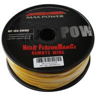 Max Power remote wire 18ga 500ft yellow (R-MP18GRMWRYL)