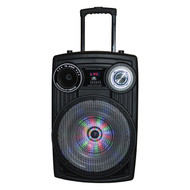 "Maxpower Karoke Ssytem With 15"" Woofer And Moon Light Built In Usb/Sd/Bt/Mic 5000W Max (R-MPD155L)"