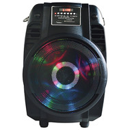 "6.5"" Woofer With Moon Light Built In Usb/Sd/Bluetooth/Mic 800 Watts Max (R-MPD65L)"