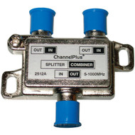 CHANNEL PLUS 2512 DC/IR Passing Splitter/Combiner (2 way) (R-MPT2512)