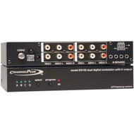 CHANNEL PLUS 5545 Deluxe Series Modulator with IR Emitter Ports (Quad-Source) (R-MPT5545)