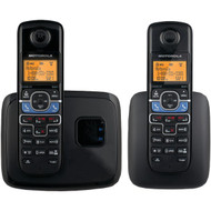 MOTOROLA L702BT DECT 6.0 2-Handset Cordless Phone System with Bluetooth(R) Link (R-MRAL702BT)
