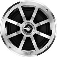 "Jensen MSX60CPR 6.5"" Coaxial 75W Silver Speaker (R-MSX60CPR-SINGLE)"