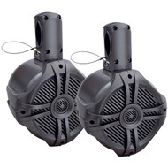 "Power Acoustik Marine 8"" Wake Tower Speaker Titanium (Pair) (R-MWT80T)"
