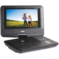 "NAXA NPD703 7"" TFT LCD Swivel-Screen Portable DVD Player (R-NAXNPD703)"