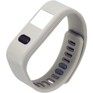 NAXA NSW-13 GREY LifeForce+ Fitness Watch for iPhone(R) & Android(TM) (Gray) (R-NAXSW13GRY)
